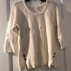 3/4 length sleeve  Dress Barn sweater